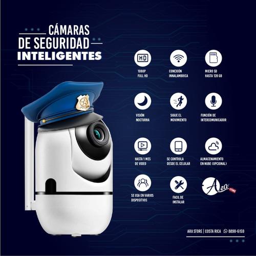Cámaras De Seguridad Wifi 360 Con 6 Meses De Garantía