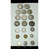 Monedas De Colección 8 Resellos 12 Regulares Antiguas