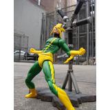 Figura Electro Enemigo De Spider Man / Marvel Select