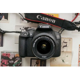 Camara Canon 2000d/ T7