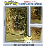 Pokémon Tarjeta Togepi  Chapada Oro - Edicion Especial