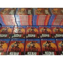 --- Red Dead Redemption 2 Ps4 Fisico En  - Tico Electrox ---