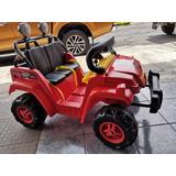 Carro Bateria Migthy Wheels Excelente Estafo