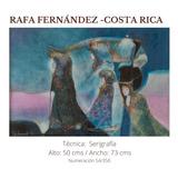 Colección De 5  Serigrafías: Rafa Fernández Y 4 Maestros.