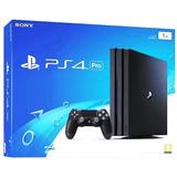 Playstation 4 Pro 1tb Nuevos, Financiamiento Disponible!