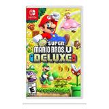 New Super Mario Bros U Deluxe Nintendo Switch 2 Juegos En 1