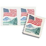 Us Sc #2280 - 1988 25c Flag Over Yosemite Coil Con Matasello