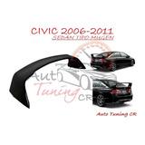 Coleta Spoiler Tapa Baul Honda Civic 2006-2011 Sedan Mugen