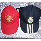 Gorras Real Madrid - Manchester United Originales