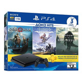 Playstation 4 1tb Gow,horizon Y Shadow Of The Colossus Nuevo