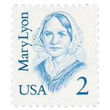 Us Sc #2169 - 1987 2c Mary Lyon Con Matasello.