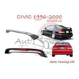 Coleta Spoiler Tapa Baul Honda Civic 1996-2000 Coupe Si