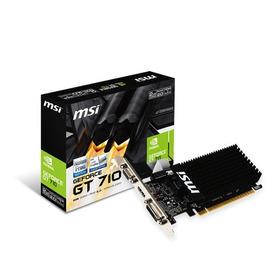 Tarjeta Video Msi Geforce Gt 710 Ddr5 2gb Ticotek