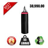 Saco Boxeo Mma 55 Libras 2 Años Garantía