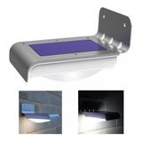 Lampara Solar Luz Led / Exteriores / Sensor Movimiento