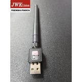 Adaptador Wi-fi Wireless-usb 150mbps Antena 5dbi Jwk Vision