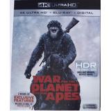 Película En 4k Planet Of The Apes (war), Nueva