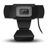 Cámara Web Hd 1080p 2mp Para Teletrabajo Y Clases Virtuales