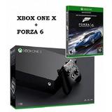 Xbox One X 1tb + Forza 6 + Garantia Financiamiento