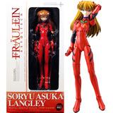 Figura Evangelion Asuka Langley Revoltech Fraulein No.003