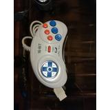 2 Controles Sega Genesis 6 Botones Turbo Low Blanco