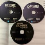Películas En 4k Planet Of The Apes (trilogía), Originales