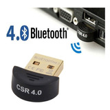 Adaptador Usb Bluetooth V4.0 Laptop Computadora Control Ps4
