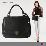 Bolso Kate Landry Negro Con Terciopelo -50% - Original Nuevo