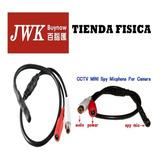 Micrófono Para Cctv Camaras De Seguridad  Jwk Vision