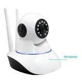 Camara Ip Robotica 360 Grados Audio Doble Via, Wifi