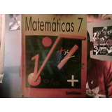 Matematicas 7 Santillana 1995. Apolo Castrejon, Eduardo