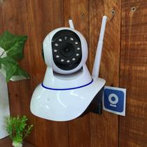 Camara Wifi Robotica 360º Y La Vemos En El Celular Graba Hd