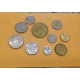 Lote De 10 Monedas Internacionales 014 Jmg