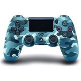 Dualshock 4 Control Ps4 - Blue Camo // Tico Electrox.