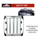 Canastas Full Aluminio Con Llave En 4 Puntos, Antirobo Total