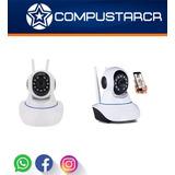 Camara De Wifi Interior 720p Graba Por Micro Sd Nocturna