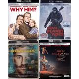 Lote De 8 Películas En 4k, Originales