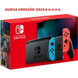 Nintendo Switch 32gb Nuevo Versión 2 Tienda Gamers *_*