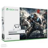 Xbox One S 1tb + Gears 4 + 7 Jgs Digitales + Financiami