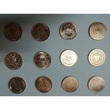 12 Monedas Coleccion Usa, 1 Onza De Cobre. Vhcf
