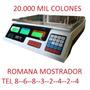 Romana Balanza 30 K Reposteria Panaderia Carniceria Restaura