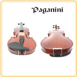 Violín 4/4 Paganini + Hombrera + Set De Cuerdas Extra