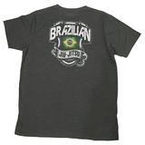 Camiseta T-shirt Jiu Jitsu Mma Vintage