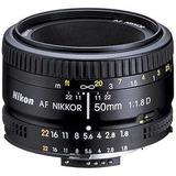 Lente Nikon 50mm F/1.8d. Nuevo. R Y M