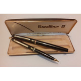 Pentel Excalibur Fine Point Liquid Ink Ball Pen