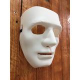 Mascara Blanca Lista Para Pintar Somos Tienda San Jose