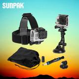 Gopro Camara Accion Kit 6 Accesorios Sunpak - Inteldeals