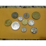 Lote De 10 Monedas Internacionales 013 Jmg