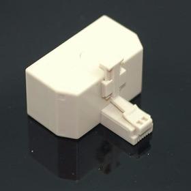 Adaptador Jack 3 Líneas Rj11 Teléfono Casa Modular Lte Cable