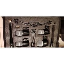 Kit De 6 Microfonos Para Bateria Shure Pgdmk6